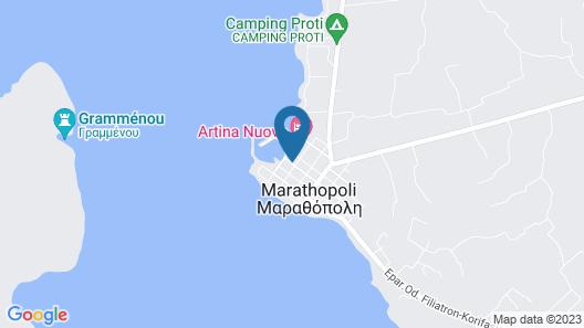 Porto Marathos Map