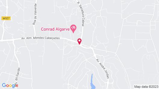 Conrad Algarve Map
