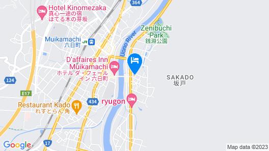 OYO Ryokan Sakadojo Niigata Map