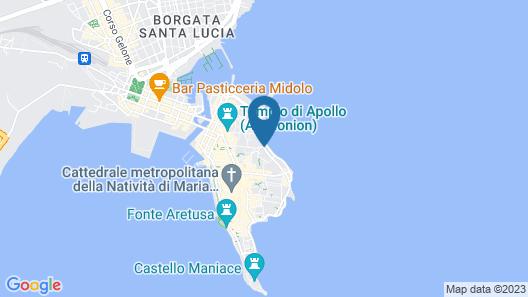 Algila' Ortigia Charme Hotel Map