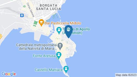 Domus Mariae Albergo Map