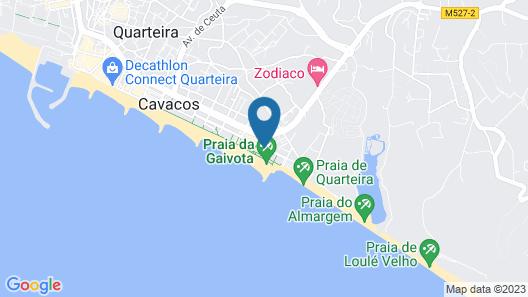 Oceanides Beach House T2 Quarteira Map