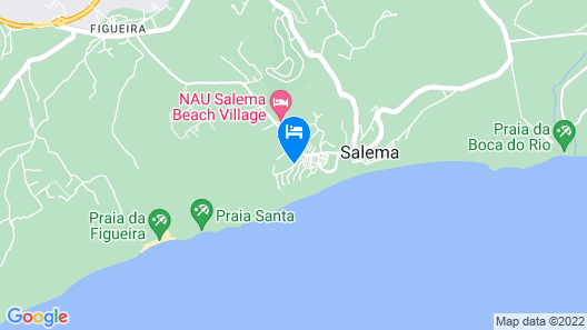 The View, Beach Holiday Resort Map