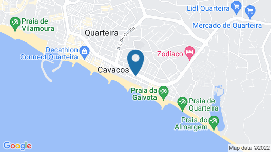 Hotel Atismar Map