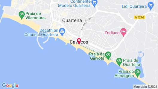 Dom Jose Beach Hotel Map