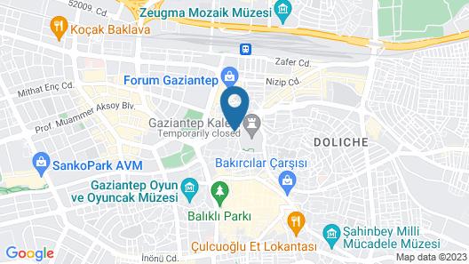 Efe Bey Konagi Map