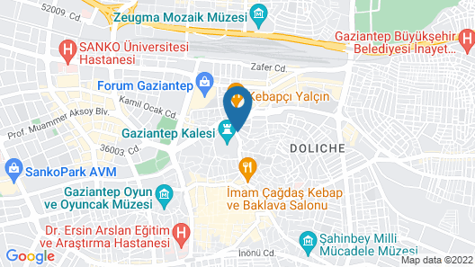 Ali Bey Konagi Map