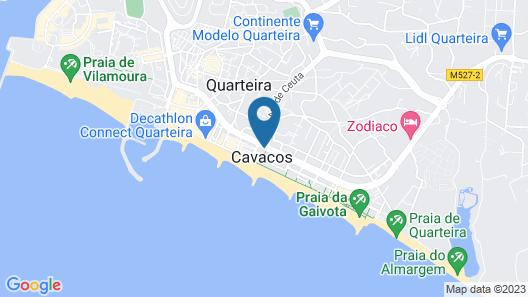 Hotel Quarteirasol Map