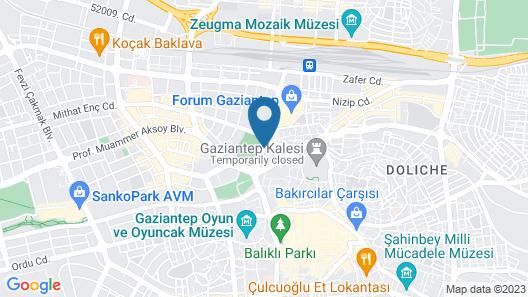 Katan Hotel Map