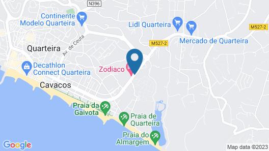 Hotel Zodiaco Map