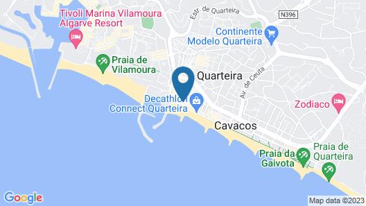 Residencial Miramar by Portugalferias Map
