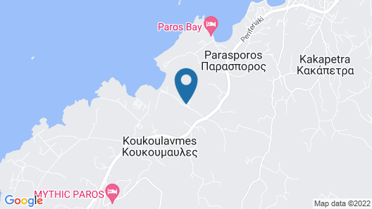 Yria Boutique Hotel & Spa Map