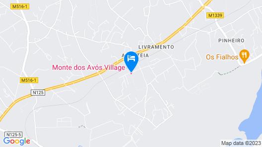 Monte dos Avós Village Map
