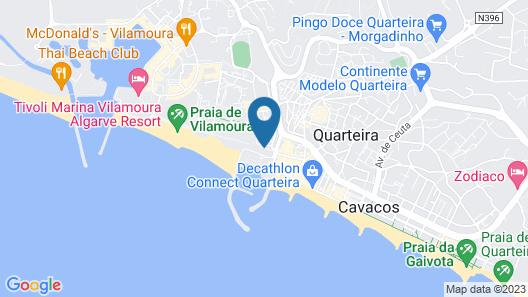 Apartamentos Paula Bela by Garvetur Map