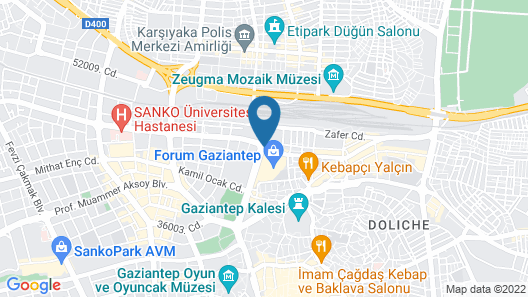 ibis Gaziantep Map
