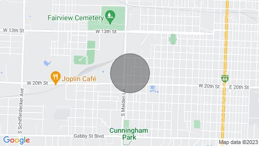 Cozy Joplin Home, Near Medical School Map