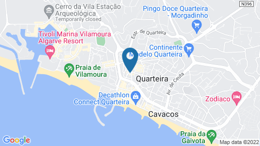 Guest House Pacífica Map