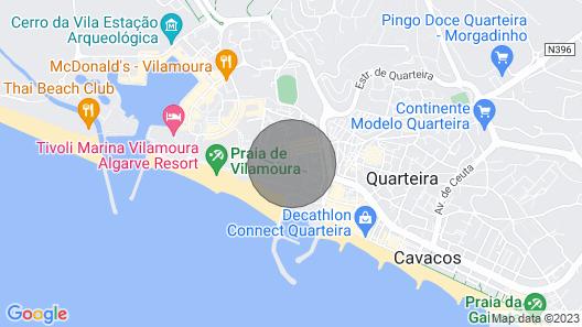 HEC Villa Columbus Apartment, 100mts Vilamoura Beach, Sea View, Pools Map