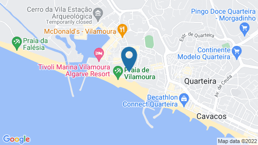 Crowne Plaza Vilamoura - Algarve, an IHG Hotel Map