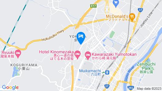 Ryuki Bekkan Map