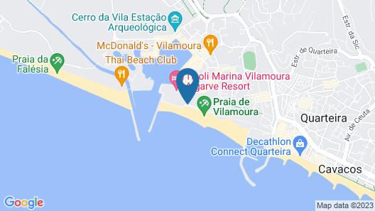 Vila Gale Ampalius Map