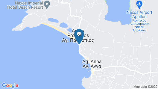 Liana Beach Hotel & Spa Map