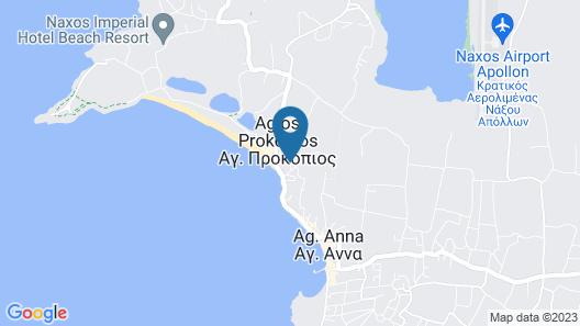Aphrodite luxury apartments Map