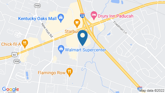 Country Inn & Suites by Radisson, Paducah, KY Map