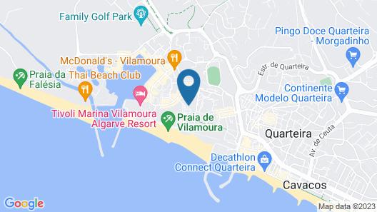 Dom Pedro Vilamoura Map