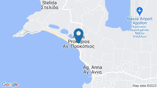 Hotel Francesca Map
