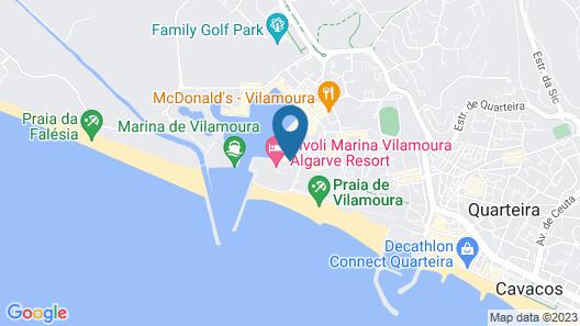 Tivoli Marina Vilamoura Map