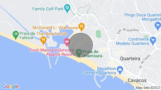Varandas do Sul - Near Vilamoura Marina Map