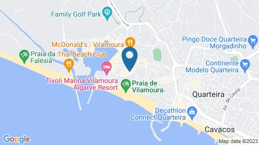 Dom Pedro Marina Map
