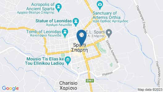 Lakonia Hotel Map