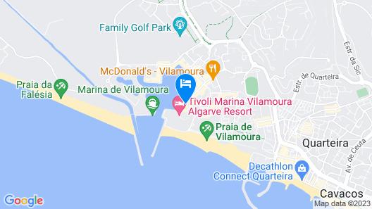 RH Marina 27 Vilamoura Marina Apartment Map