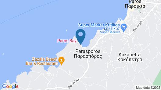 Paros Bay Hotel Map