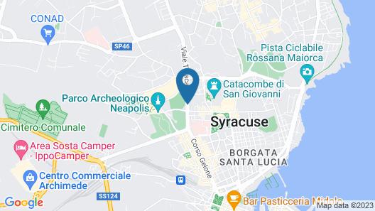 Mercure Siracusa Prometeo Map