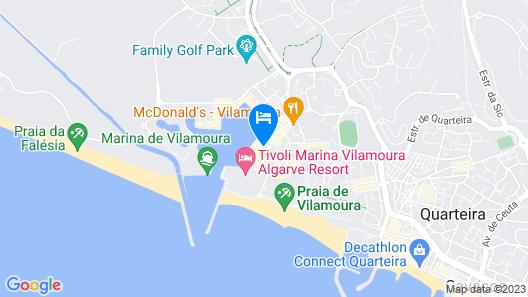 Hotel Vila Gale Marina Map
