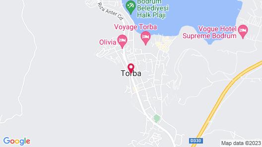 DUJA BODRUM - All Inclusive Map