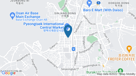 Songtan Hotel & Residence Map