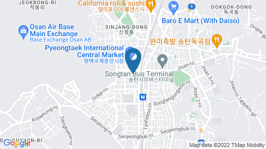 New Songtan Hotel Map