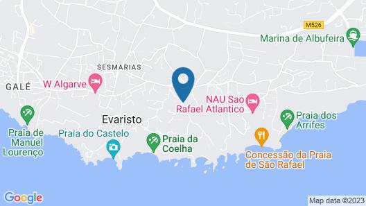 Hotel Baia Grande Map