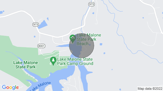 Queen of Lake Malone Map