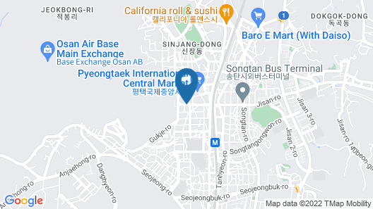 Songtan Number 25 Hotel Map