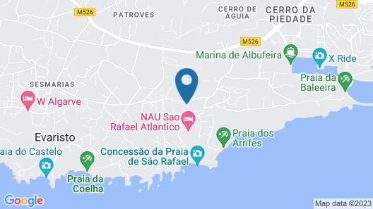 São Rafael Suite Hotel Map
