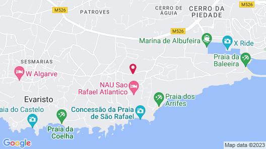 São Rafael Suite Hotel - All Inclusive Map