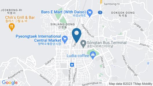 Design Hotel Ddul& Map
