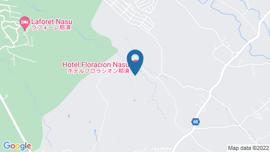Hotel Floracion Nasu Map