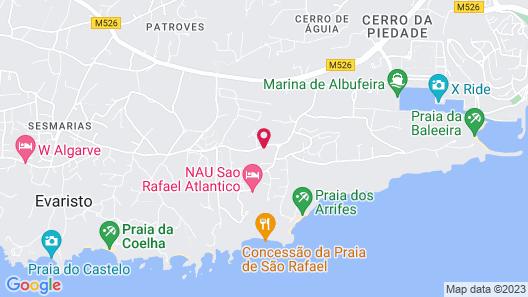 São Rafael Atlântico Map