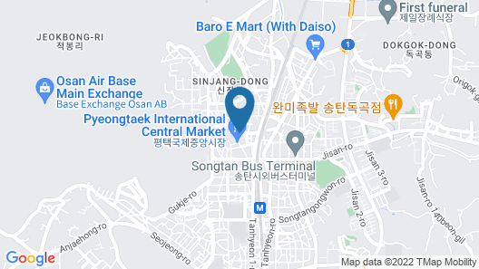 BROWN-DOT HOTEL Pyeongtaek Songtan Map
